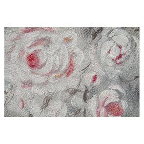 Tableau avec toile à motif fleurs - Visuel n°6