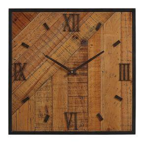 Horloge en bois grand modèle