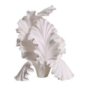 Statue fleur blanche