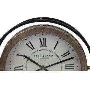 Horloge ronde en métal - Visuel n°4