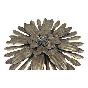 Lot de 3 fleurs en métal - Visuel n°6
