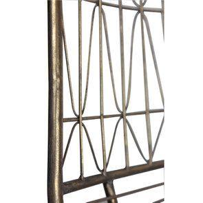 Chaise en métal laitonné - Visuel n°3