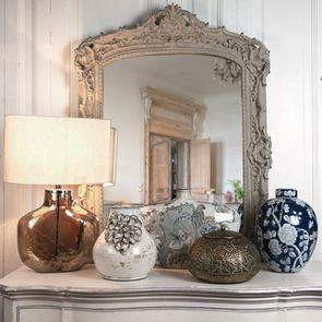 Pot en porcelaine motifs végétaux - Visuel n°3