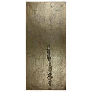 Panneau métal Doré