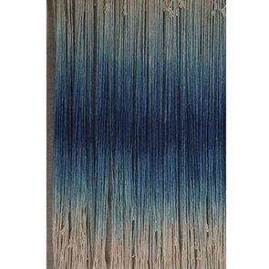 Tableau en macramé bleu - Visuel n°7