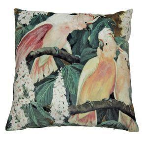 Housse de coussin à motif perroquets 45x45 - Visuel n°5