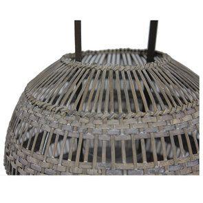 Lanterne ronde en rotin - Visuel n°6