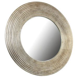 Miroir rond mordoré - Visuel n°17