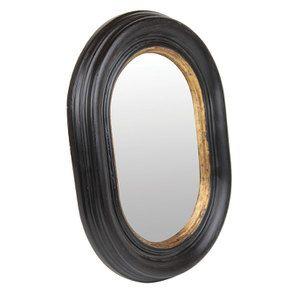 Miroir sorcière ovale