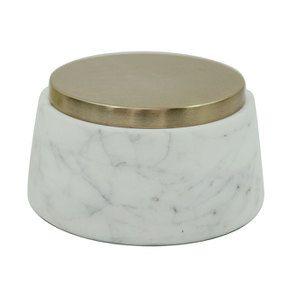 Boîte ronde en marbre