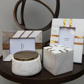 Boîte carrée en marbre - Visuel n°3