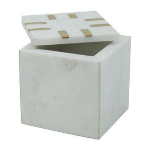 Boîte carrée en marbre - Visuel n°4