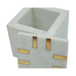 Boîte carrée en marbre - Visuel n°6