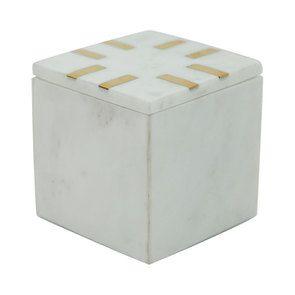 Boîte carrée en marbre - Visuel n°7