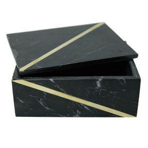 Boîte rectangulaire en marbre - Visuel n°6