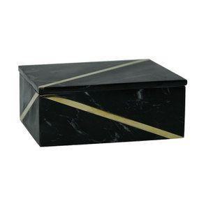 Boîte rectangulaire en marbre - Visuel n°1