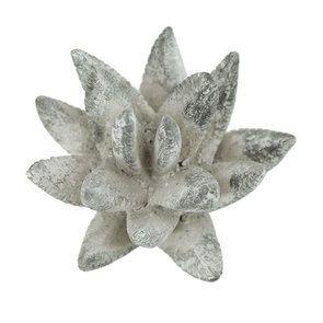 Fleur en céramique aspect ciment - Visuel n°5