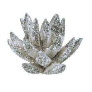 Fleur en céramique aspect ciment - Visuel n°6