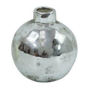 Soliflore décoratif effet chrome