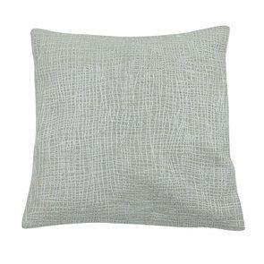 Housse de coussin blanche coton et lin tissu