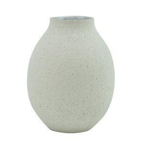 Vase décoratif en céramique brute