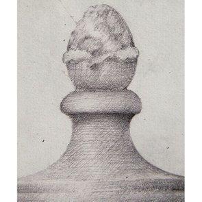 Tableau gravure noir et blanc 60X43 - Visuel n°7