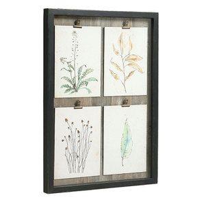 Cadre 4 herbiers à l'aquarelle - Visuel n°3