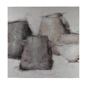 Tableau abstrait contemporain 100x100