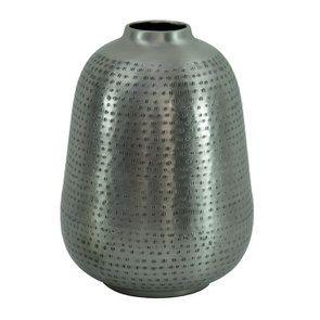 Vase décoratif en métal ajouré