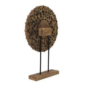Rosace en bois sculpté - Visuel n°6