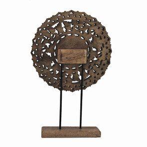 Rosace en bois sculpté - Visuel n°7