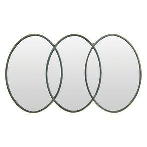 Miroir laitonné vieilli
