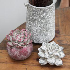Fleur en céramique décorative