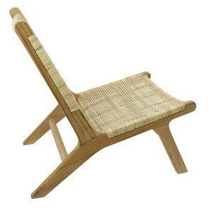 Chaise longue en teck - Ceylan - Visuel n°4