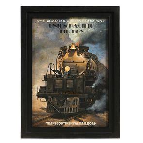 Gravure locomotive