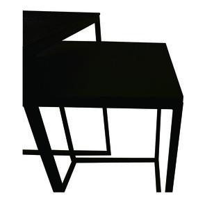Tables gigognes carrées noires - Factory