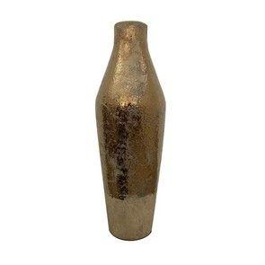 Vase décoratif doré vieilli
