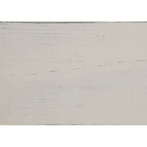 Vitrine blanche 2 portes en épicéa massif - Provence - Visuel n°7