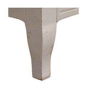 Vitrine grise 2 portes en épicéa massif - Provence - Visuel n°5