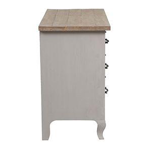 Commode 3 tiroirs en épicéa massif - Provence - Visuel n°17