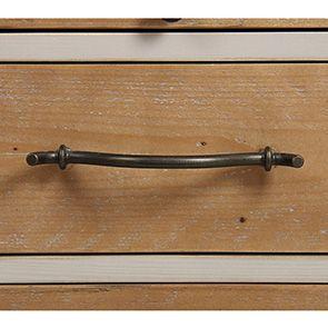 Console grise en épicéa massif - Provence - Visuel n°9