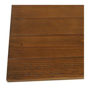 Table basse rectangulaire 2 tiroirs en épicéa massif blanc vieilli - Provence - Visuel n°11