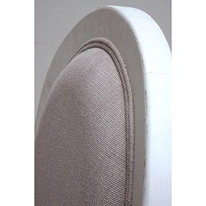 Chaise médaillon en tissu et hévéa - Provence - Visuel n°5