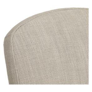 Chaise grise en tissu et hévéa - Provence - Visuel n°8