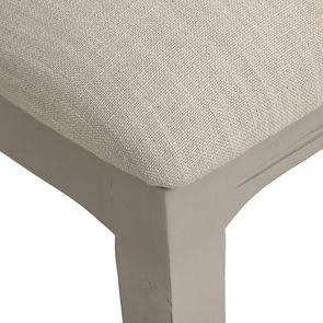 Chaise grise en tissu et hévéa - Provence - Visuel n°9