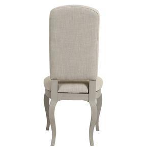 Chaise grise en tissu et hévéa - Provence - Visuel n°5