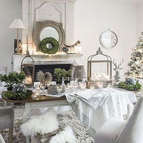 Table ovale extensible blanche en épicéa 10 personnes - Provence - Visuel n°4