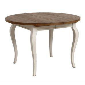 Table ronde extensible en épicéa massif 4 à 8 personnes - Provence - Visuel n°4