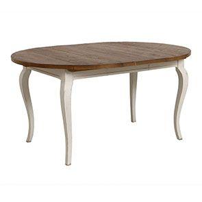 Table ronde extensible en épicéa massif 4 à 8 personnes - Provence - Visuel n°5
