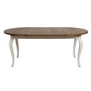 Table ronde extensible en épicéa massif 4 à 8 personnes - Provence - Visuel n°6